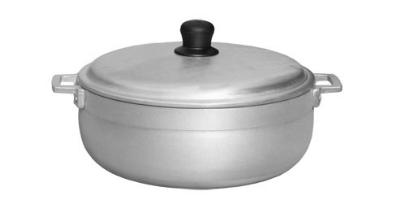 Town Food Service 34306 6.7 qt Aluminum Caldero, With Lid