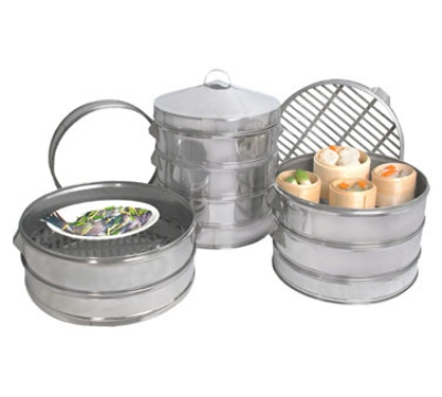 Town Food Service 36520 20 in Dim Sum Steamer, Stainless