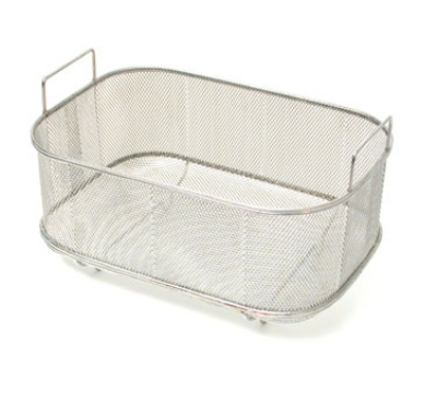 Town Food Service 42950 Bar Sink Strainer Basket w/ Handles & Feet, 9-1/2 X 14 X 5-1/2-in