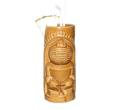 Town Foodservice Equipment 51125 14 oz Brown Tiki Cup Restaurant Supply