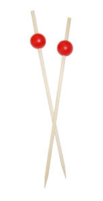 Town Foodservice Equipment 51604R Red Ball Shape Ball Pick Restaurant Supply