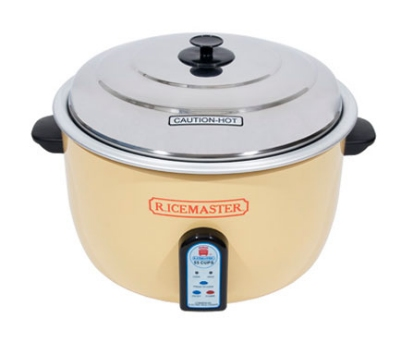 Town Food Service 57155 55 Cup Electric Rice Cooker/Steamer, One Touch, 230 V