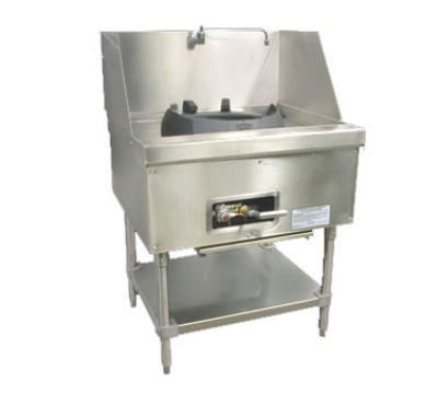 Town Food Service M-1-JR LP MasterRange Junior, 1 Chamber, Refractory Brick Insulation, Stainless Sides, LP
