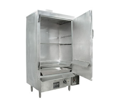Town Food Service SM30RSTDLP 30-in Glalvanized Smokehouse w/ Right Hinge Door, LP