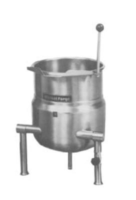 Market Forge FT12 Tilting Kettle, Direct Steam, Table Top, 12 Gallon Cap