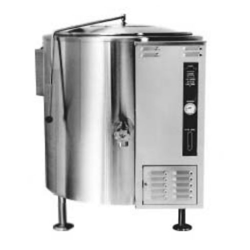 Market Forge F-40GLF 40-gal Kettle, 2/3 Steam Jacket Design, 2-in Tangent Draw-Off Valve