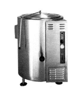 Market Forge F80L Kettle, Direct Steam, 80 gal. Capacity, Tri-Leg