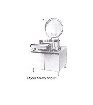 Market Forge M60 Kettle Direct Steam 60-gallon Capacity 2/3 Steam Jacket Design Restaurant Supply