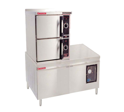 Market Forge 3500M36E36A 2083 36-in Convection Steamer w/ (3) 12x20x2.5-in Pan Capacity, 36-kw, 208/3 V