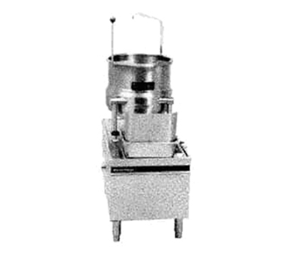 Market Forge MT10E24A4803 10-gal Tilting Kettle w/ 24-in Base & 24-kw Steam Generator, 480/3 V, Export