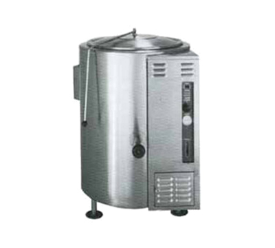 Market Forge F-30GL 30-gal Kettle, 2/3 Steam Jacket Design, 2-in Tangent Draw-Off Valve