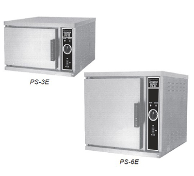 Market Forge PS-3E 2083 Convection Steamer w/ (3) 12 x 20 x 2.5-in Pans & Delime Power Switch, 208/3 V