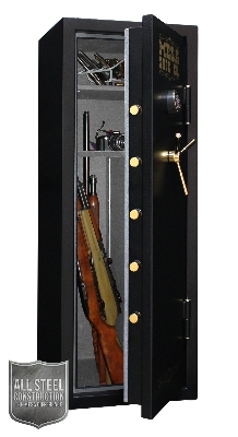 Mesa Safe MBF5922E Burglary/Fire Gun Safe - All Steel, Electronic Lock, 7.9 cu ft,  Black
