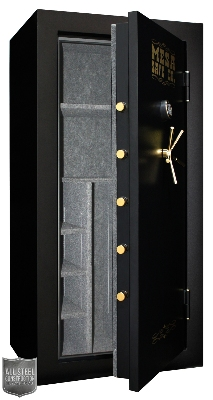Mesa Safe MBF7236E Burglary/Fire Gun Safe - All Steel, Electronic Lock, 22.9 cu ft, Black