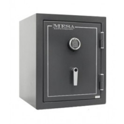 Mesa Safe MBF2020E Burglary/Fire Safe - All Steel, Electronic Lock, 3.3 cu ft, Hammered Gray