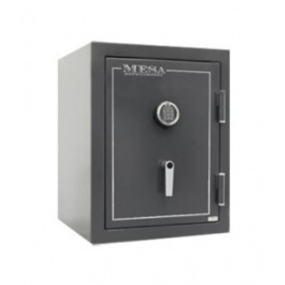Mesa Safe MBF2620E Burglary Safe, 26.5-in, Electronic, 4.1-cu ft, Hammered Grey