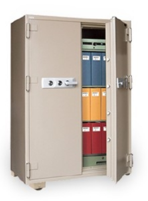 Mesa Safe MFS 170E TAN Fire Safe - 2-Hour, All Steel, Electronic Lock, 13.3 cu ft, Tan