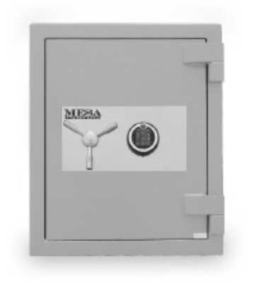 Mesa Safe MSC2520C High Security Safe, 2.7-cu ft Interior, Combination Lock, Silver