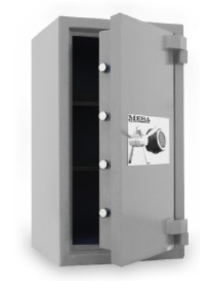 Mesa Safe MSC3820C High Security Safe, 4.4-cu ft Interior, Combination Lock, Silver