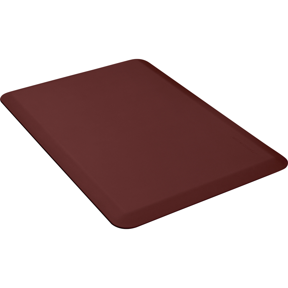 Wellness Mats 32WMRBUR 3 x 2-ft Mat, (APT) Poly, Comfort, No-Slip, Burgundy
