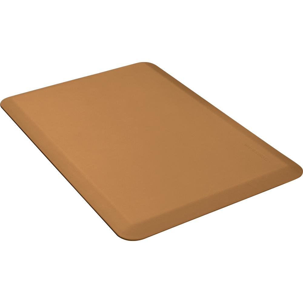 Wellness Mats 32WMRTAN 3 x 2-ft Mat, (APT) Poly, High Comfort, No-Sl