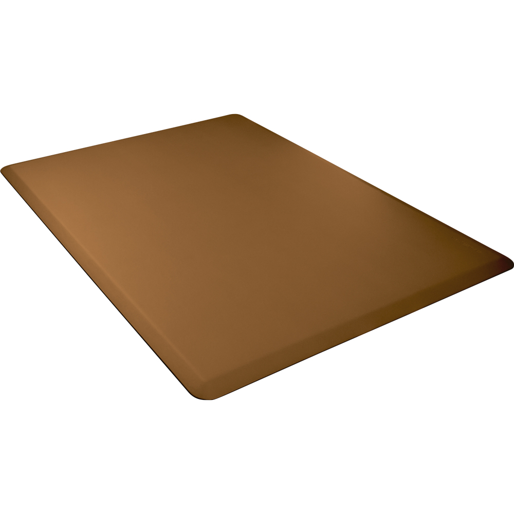 Wellness Mats 54WMRTAN High Comfort Mat, 5 x 4-ft, (APT) Poly, No-Slip, Tan