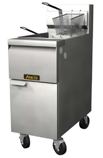 Anets 14GSSFF NG Fryer w/ Cross-Fire Burners & Snap Action, 50-lb Fat Capacity, NG