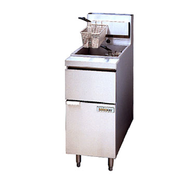 Anets 14GSSFF LP Gas Fryer - (1) 50-lb Vat, Floor Model, LP