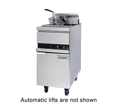 Anets 14EL14AAF 2083 Electric Fryer - (1) 50-lb Vat, Floor Model, 208v/3ph