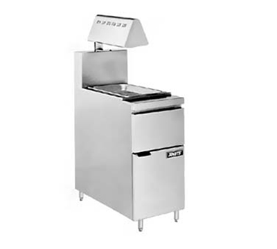 Anets FRICRISP18HL 18-in Fri-Crisp Station, Fryer Match Design w/ Heat Lamp, Pan & Screen