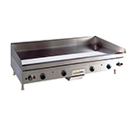 Anets A24X60G NG Griddle w/ .75-in Hardened Steel Plate & Snap Action, 60 x 24-in, NG