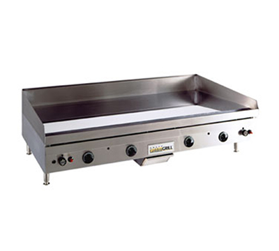Anets A30X48GCLD NG Griddle, .75-in Chrome Steel Plate & Grease Drawer, Snap Action, 48 x 30-in, NG
