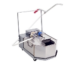 Anets FFM-80 80-lb Low Profile Mobile Fryer Filter w/ Stainless Filter Tank, 120V