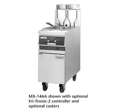Anets MX14AASFF Gas Fryer - (1) 50-lb Vat, Floor Model, NG