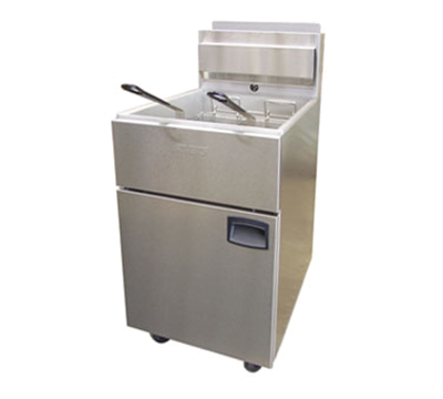 Anets SLG100 LP 70-100-lb SilverLine Fryer, Snap Action Millivolt, LP
