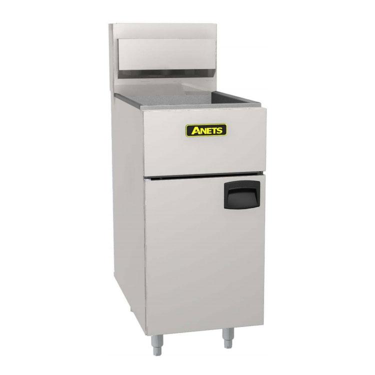 Anets SLG40 LP Gas Fryer - (1) 50-lb Vat, Floor Model, LP