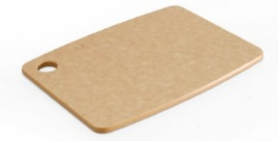 Epicurean 001-080601 8 x 6-in Lightweight Cutting Board, NSF Recycled Paper, Natural