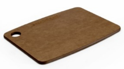 Epicurean 001-080603 8 x 6-in Lightweight Cutting Board, NSF Recycled Paper, Nutmeg