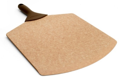Epicurean 007-21140102EA 21 x 14-in Pizza Peel, Beveled Edge, Natural w/ Brown Handle