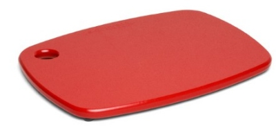 Epicurean 404-12090901 Eco Plastic Cutting Board, 12 x 9-in, Poly, Red w/ Gripper Feet
