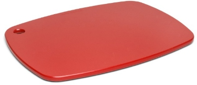 Epicurean 404-18130901 Eco Plastic Cutting Board, 18 x 13-in, Poly, Red w/ Gripper Feet