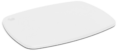 Epicurean 404-12090907 Eco Plastic Cutting Board, 12 x 9-in, Poly, White w/ Gripper Feet