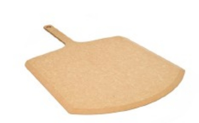 Epicurean 407-221201 Commercial Pizza Peel, 12 x 22-in, Natural, Durable 1/4-in Profile