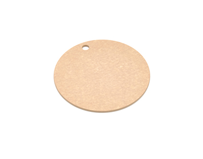 Epicurean 429-001001 10-in Round Pizza Boardw/ .25-in Height, Natural
