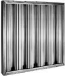 Hyman Podrusnik AB25202 Aluminum Baffle Filter, 25 in H x 20 in W x 2 in
