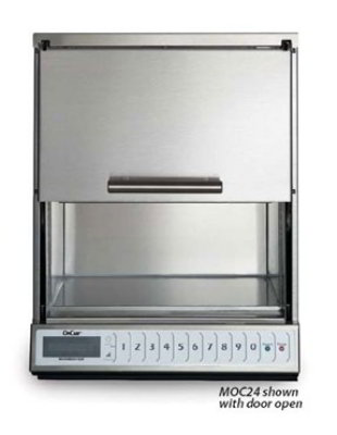 Amana MOC24 Commercial Microwave Oven w/ 100-Programmable Settings, Stainless