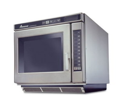 Amana RC17S2 1700w Commercial Microwave with Touch Pad, 208-240v/1ph