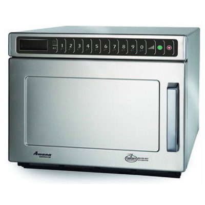 Amana HDC18SD2 1800w Commercial Microwave with Touch Pad, 208-240/1v
