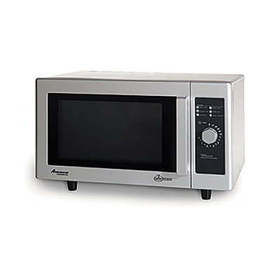Amana RMS10D 1000w Commercial Microwave with Dial Control, 120v