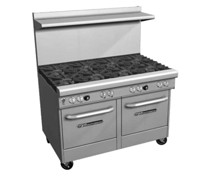 "Southbend 4483AC-3CL 48"" 2-Burner Gas Range with Charbroiler, NG"